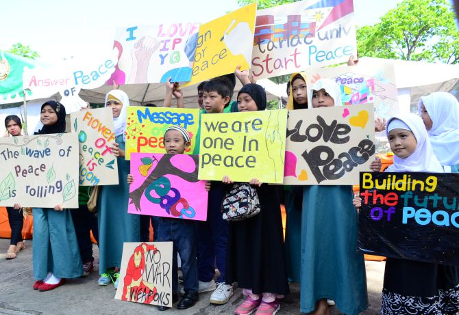 Group leads 'Peace Walk' campaign to end extremism