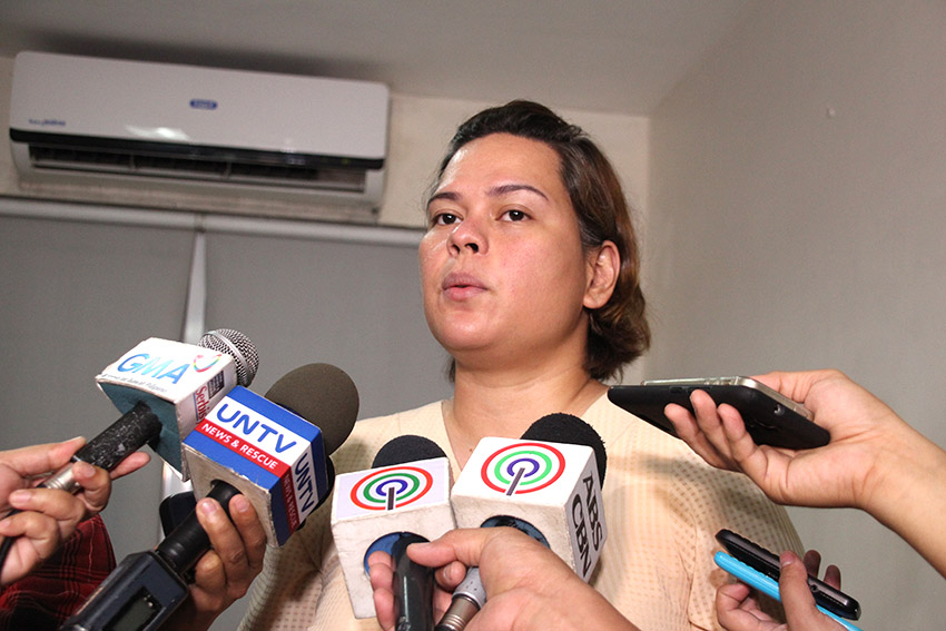 Davao on lockdown: Sara Duterte tells public to stay at home