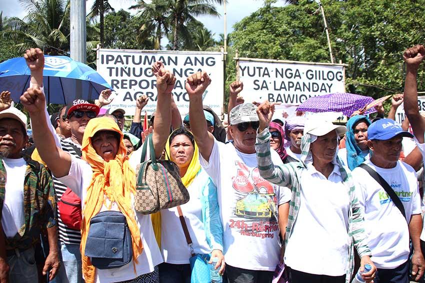 MARBAI farmers reclaim contested land in Tagum