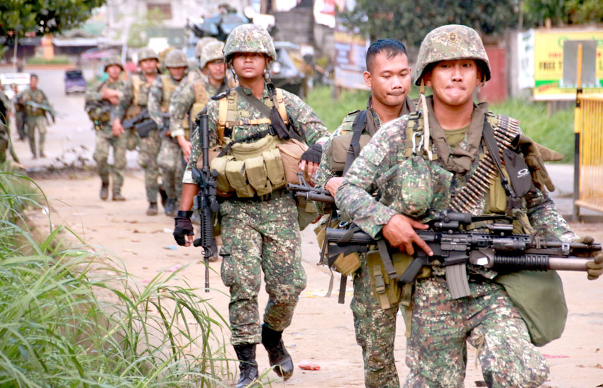 More Army troops deployed to IP areas in Davao region