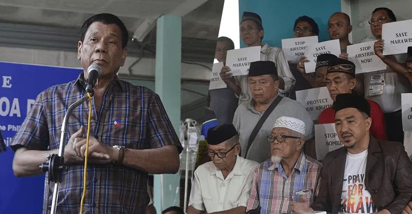 We never heard Duterte say 'kamusta kayo?' – Marawi sultan