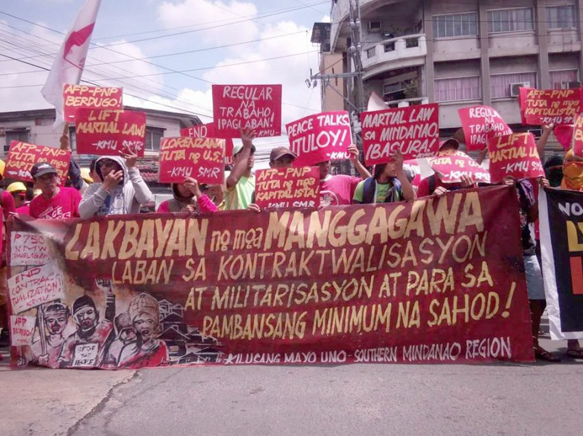 Iligan City-bound protesters held in checkpoints, delayed by traffic jam