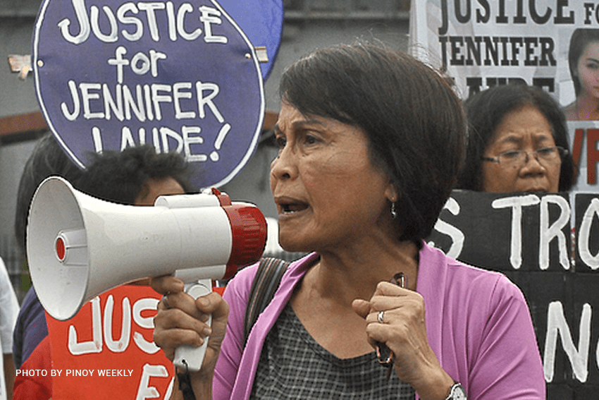 FULL TEXT | Gabriela Women's Party Representative Emmi De Jesus' explanation of vote against Martial Law extension