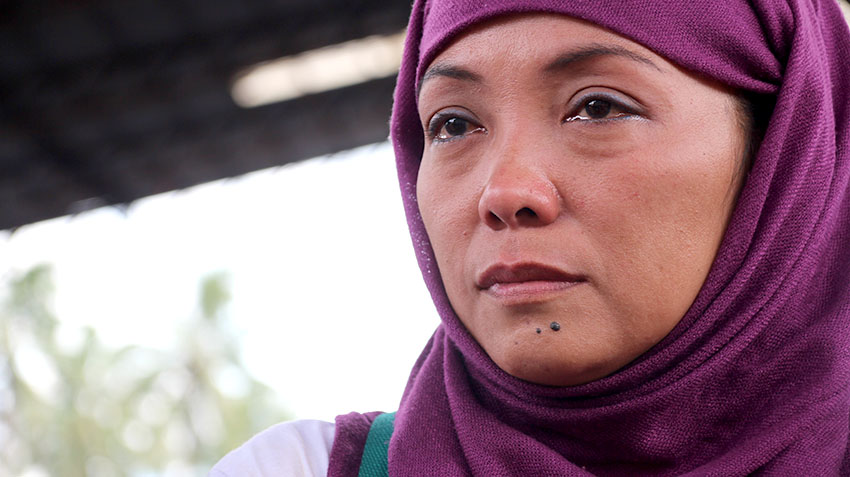 Marawi woman evacuee: Arafat is not a terrorist