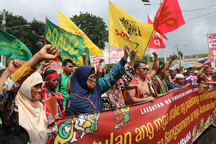Lakbayan delegates return home