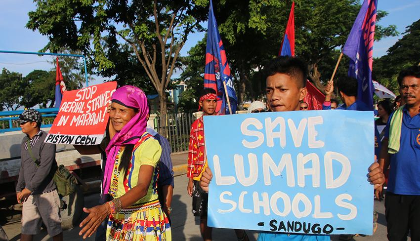 Cebu to hear plight of Lumad, Moro in Duterte's regime