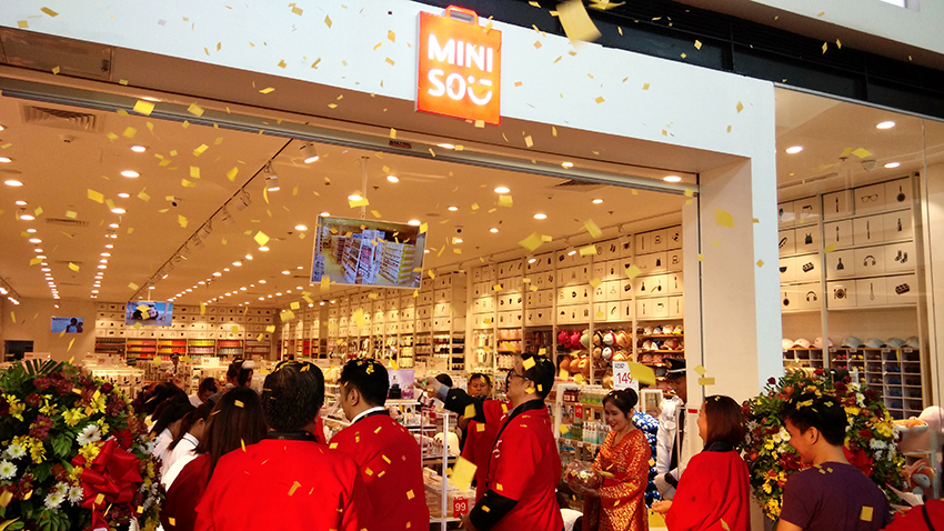 Miniso opens in Davao City
