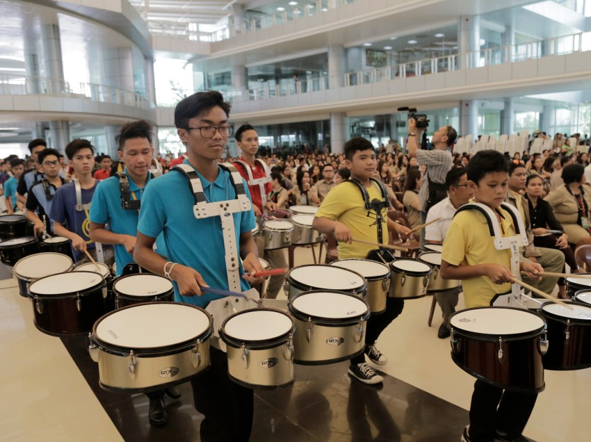 Tagum City is the 'Marching Showband Capital' of PHL