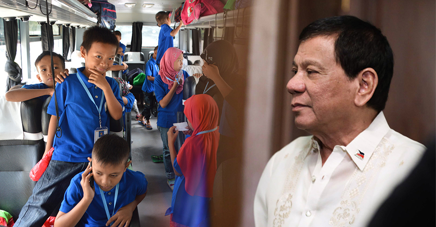 Marawi kids meeting Duterte to speak about war