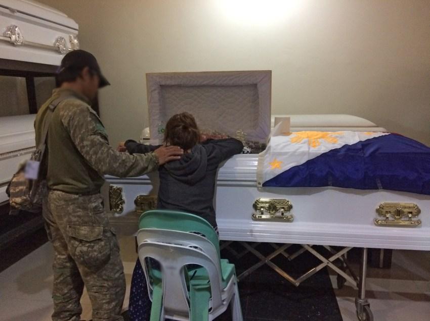 Fallen soldier's grieving partner loses pregnancy