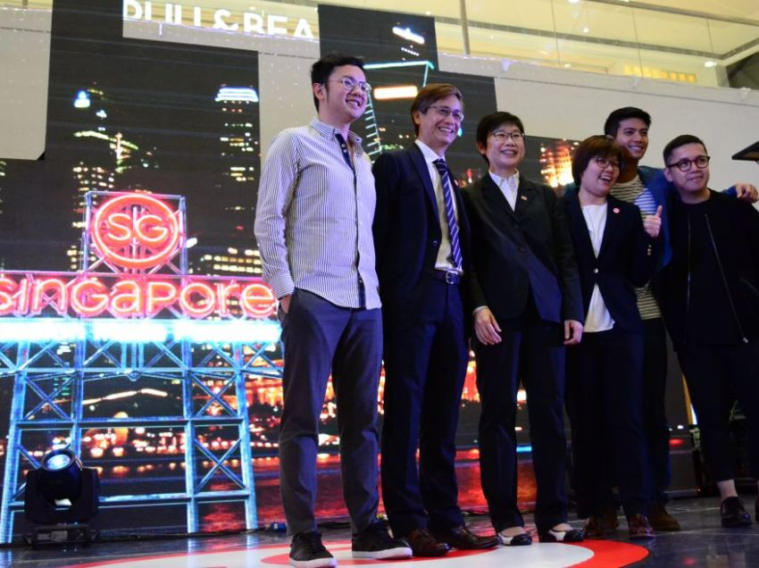 Filipinos highlighted in Singapore's rebranding