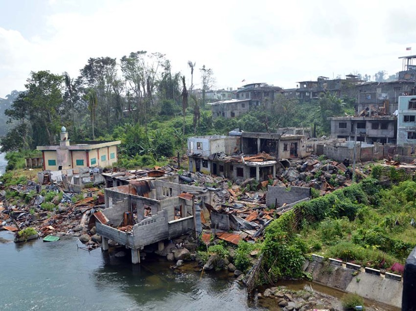 IN PHOTOS | A war that turned Marawi into rubble