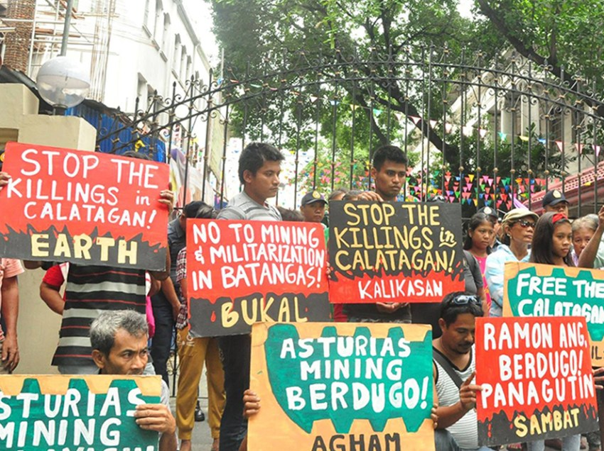 Green group hits crackdown vs environmental defenders in Batangas