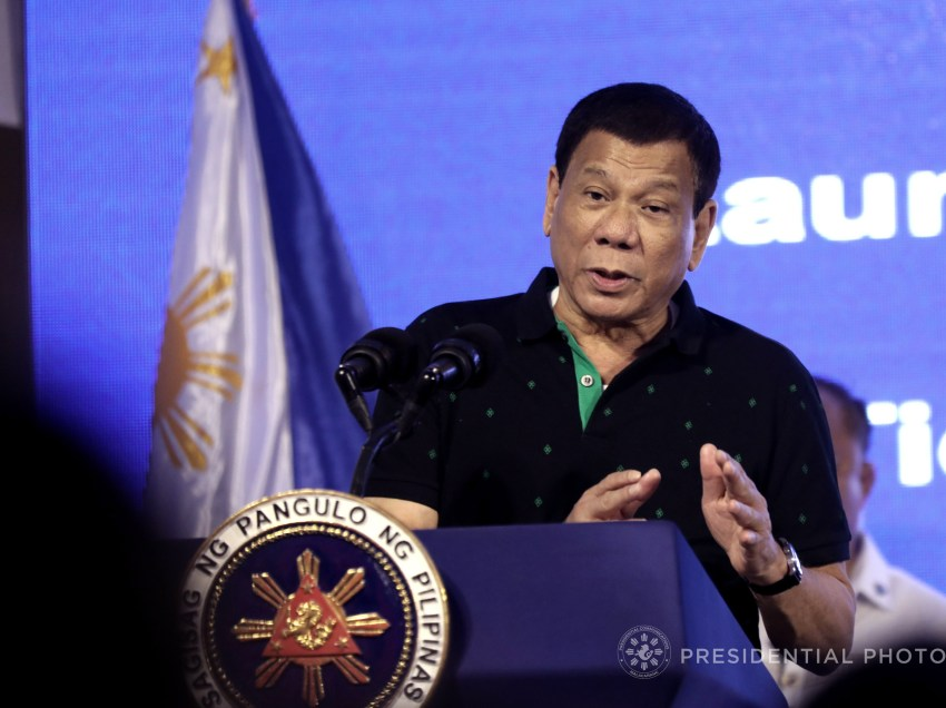 Duterte reiterates: Fate of martial law lies on military, police