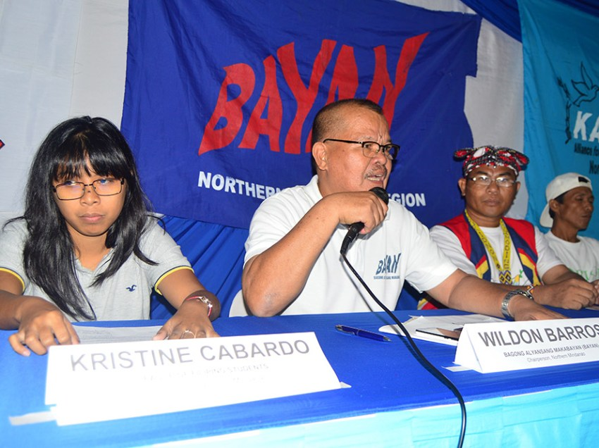 Activists to gov't: we are not NPA supporters