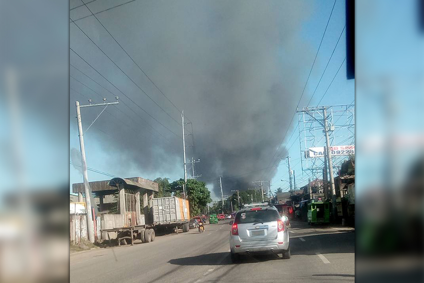 Fire guts P33.6-M oil mill property in Davao City