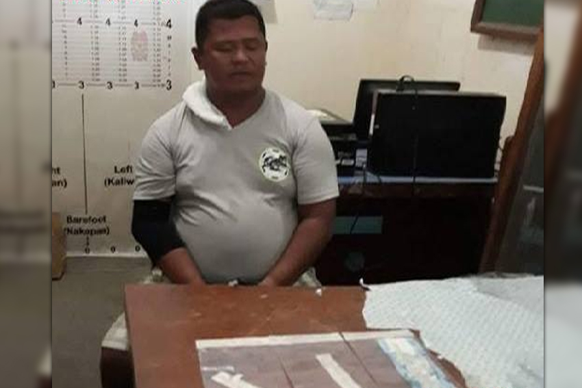 Gov't employee nabbed in buy-bust ops in Davao Occidental