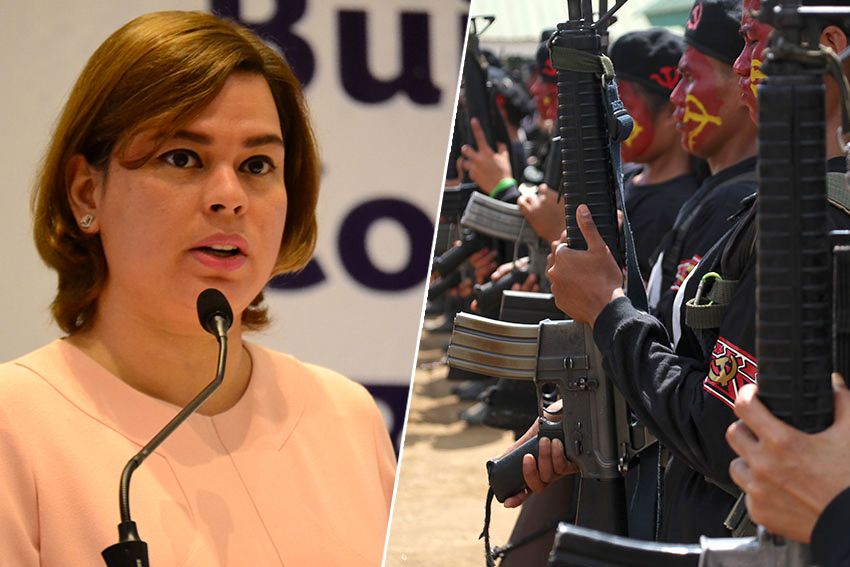 Sara Duterte to pursue localized talks with Reds