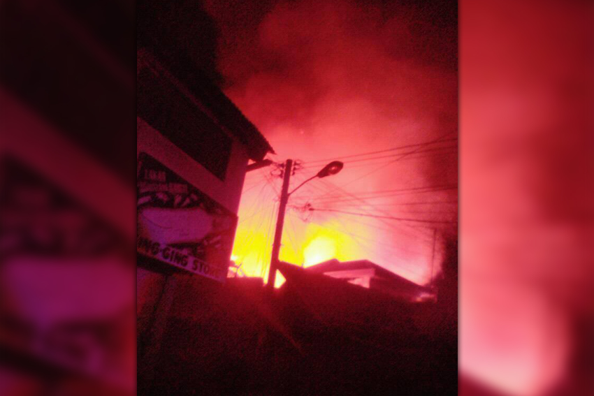 81 families homeless after fire guts houses in Davao