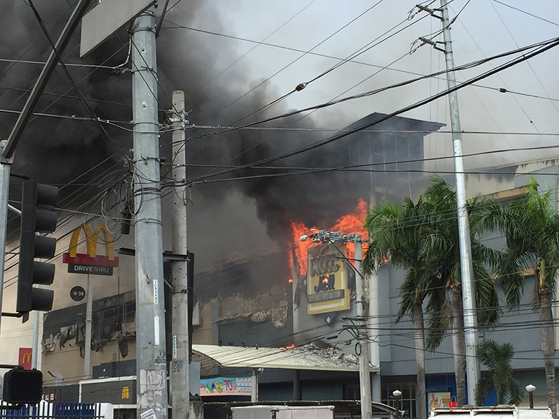 Dozens feared dead in Davao City mall fire