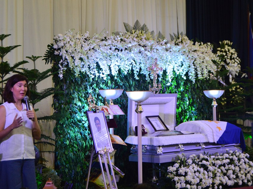 Funeral for slain USTP president set on Dec. 8