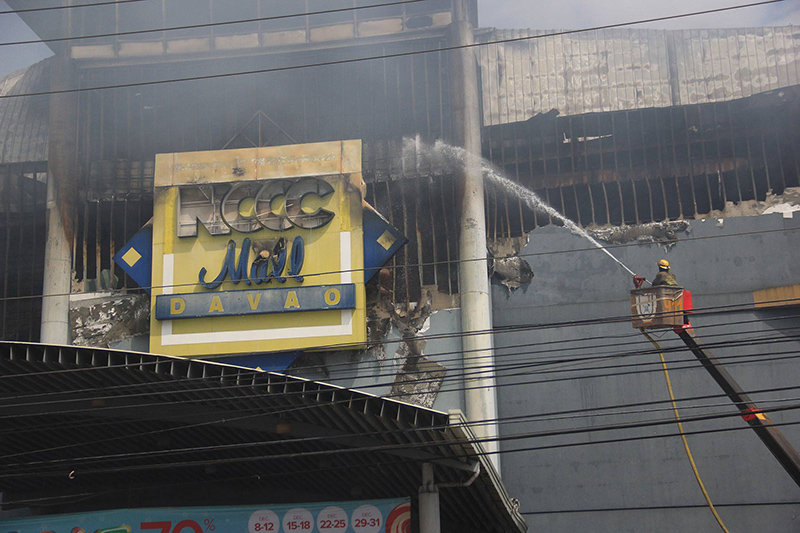 Body found as Davao City mall fire put off on Christmas Eve