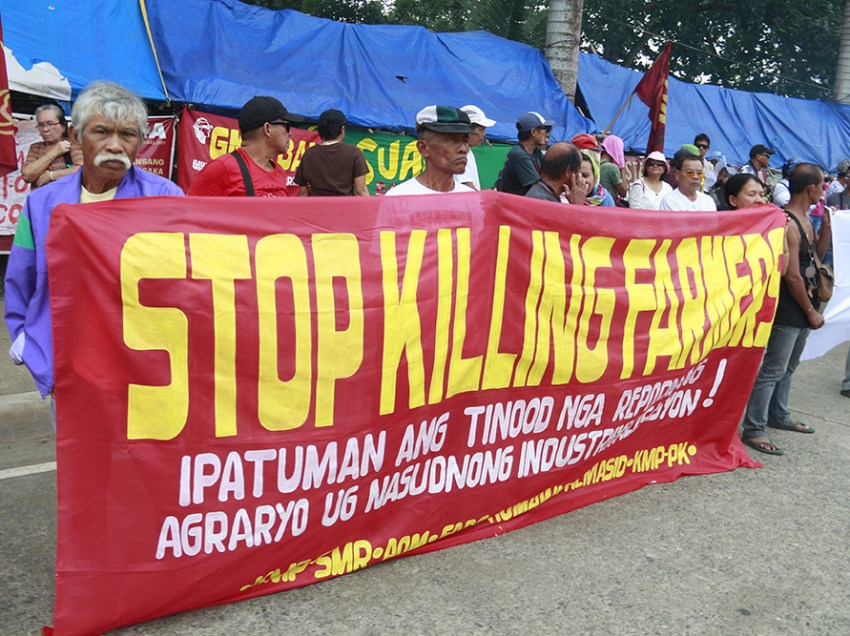 Davao region a deadly ground for peasants, IPs