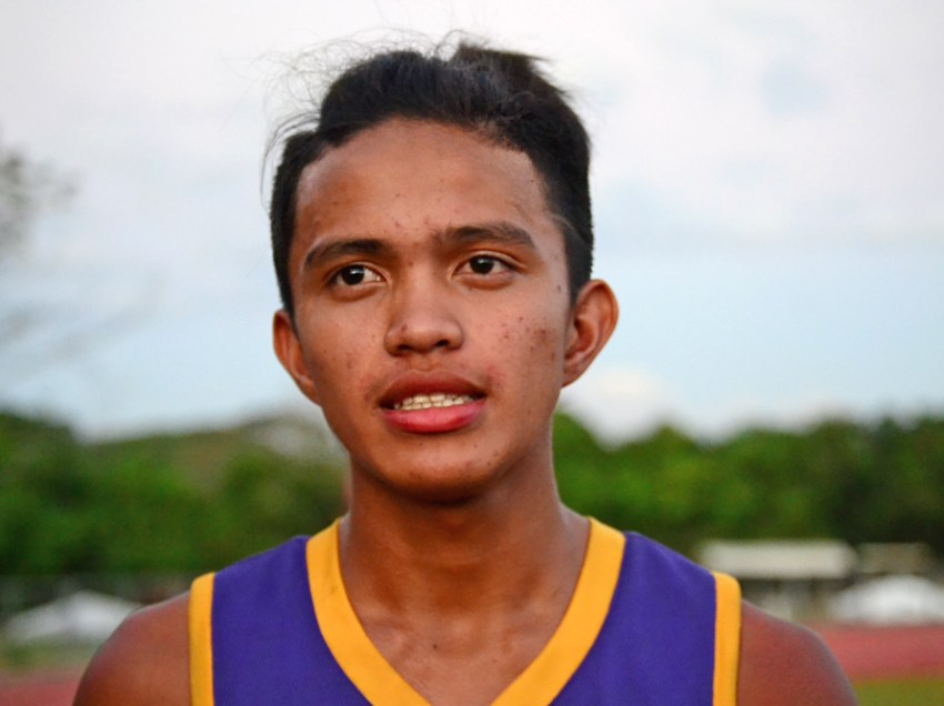 Digos City rookie captures gold in high jump