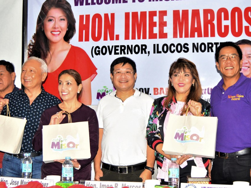 Imee Marcos on running for senator: 'We'll wait and see'