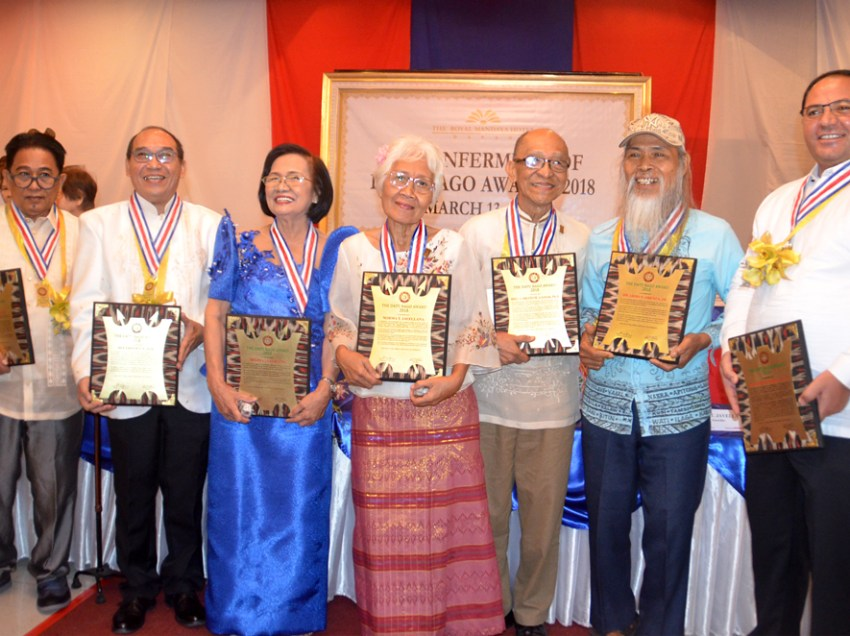 IN PHOTOS: Datu Bago awardees for 2018