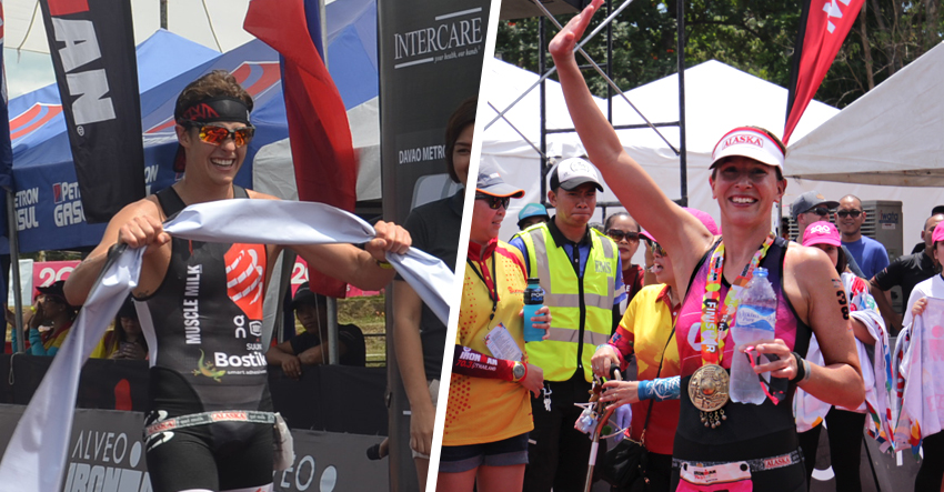 Mendez, Kahlefeldt dominate Ironman race in Davao