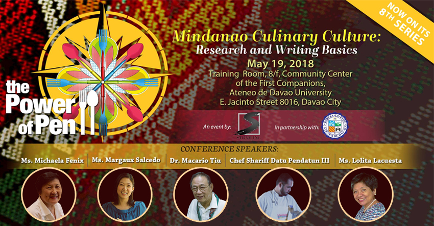 'Power of Pen' to touch on Mindanao culture