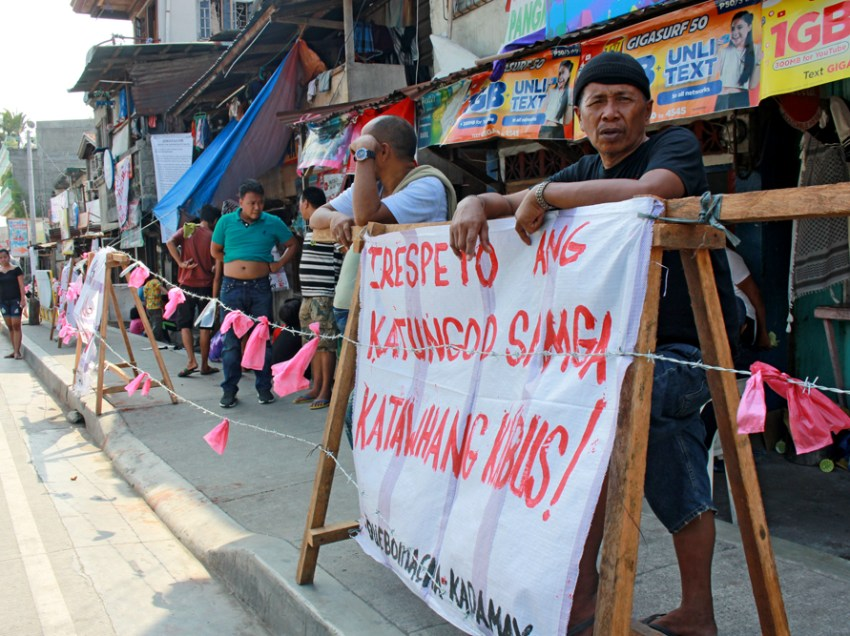Beleaguered Salmonan residents ask PCUP, Pres. Duterte to stop demolition