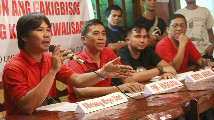 3 labor groups set unified protest for Labor Day vs Endo