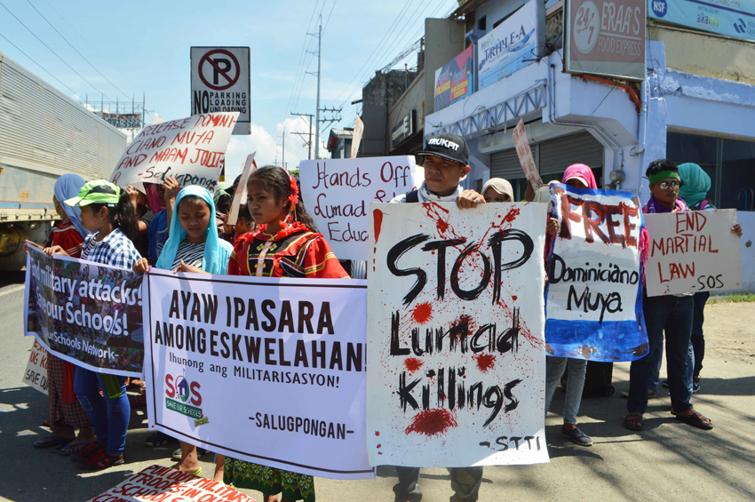 Mindanao protest rallies mark ML's 1-year anniversary