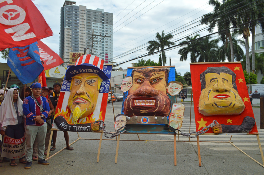 IN PHOTOS: 'People's SONA' in Duterte's hometown