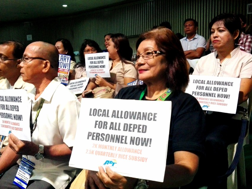 Teachers ask Davao City for budget support