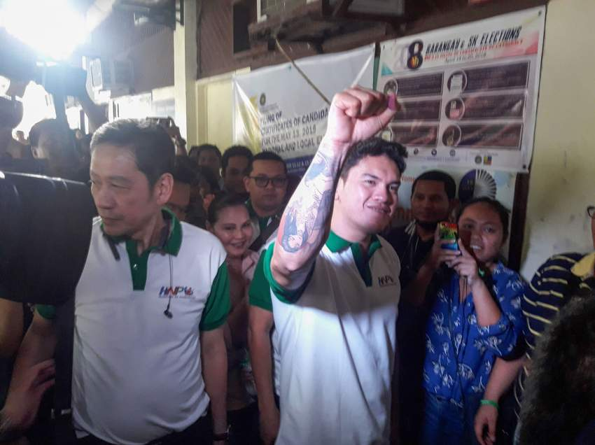 President's youngest son Baste joins Davao politics
