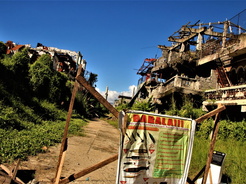 Marawi residents are getting impatient of Duterte admin's  slow rehab efforts