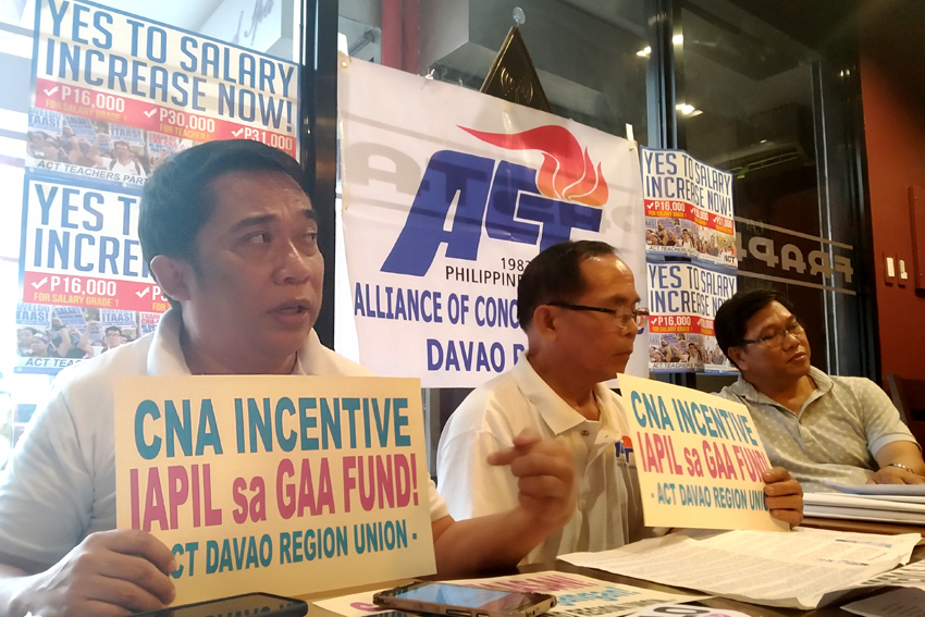 "Teachers' alliance questions ""no savings"" declaration of DepEd-11"