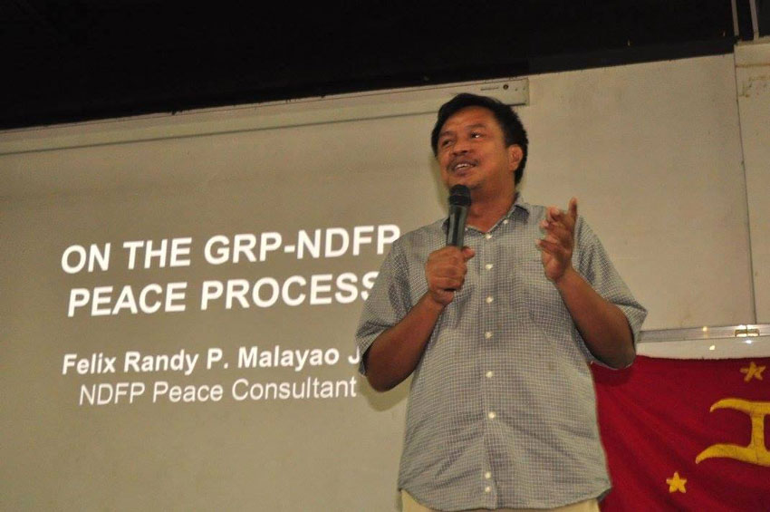 Peace group: Murder of NDFP consultant Randy Malayao a big blow to peace process