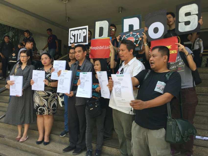 Alternative media groups lodge civil suit vs. 2 firms for cyber-attacks