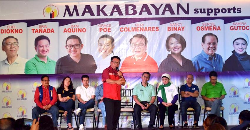 Makabayan Coalition endorses 9 senatorial bets