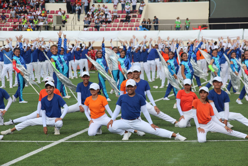 IN PHOTOS: Opening of 2019 National Games in Davao City