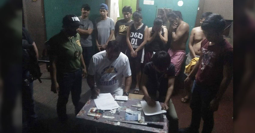 Davao drug den raid nets 7 suspected users