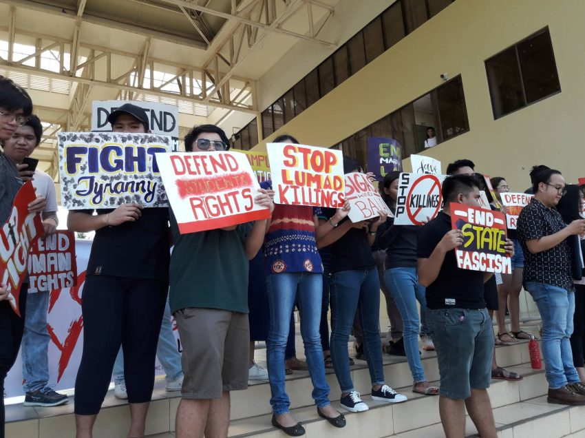 UP Mindanao remembers Martial Law, vows #NeverAgain