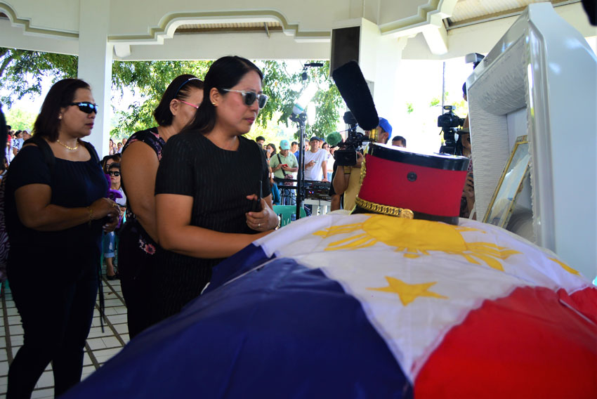 PMA cadet who died by hazing laid to rest