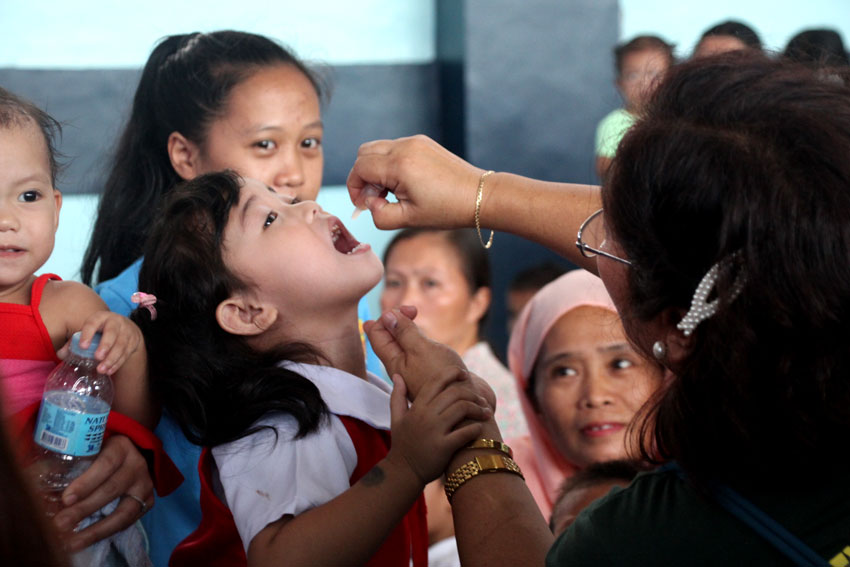 Davao City gov't launches anti-Polio drive