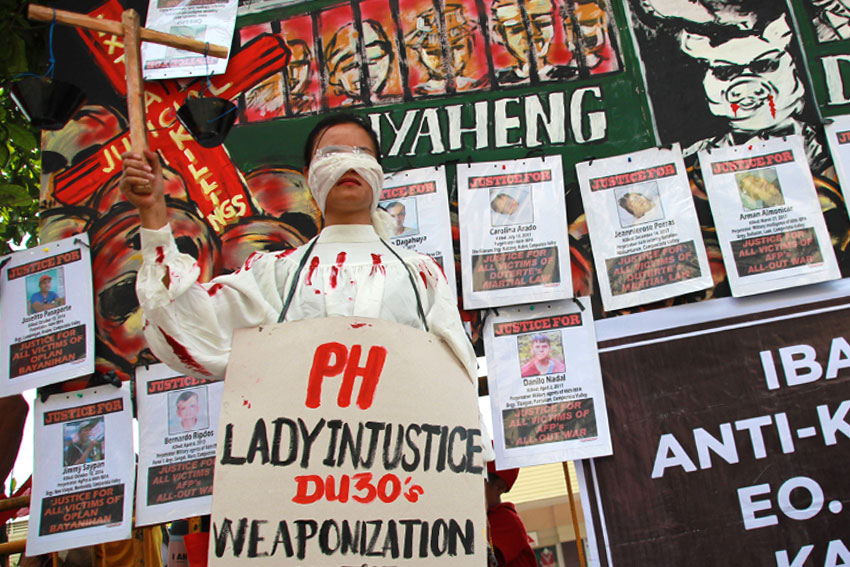 Lumad, peasants call for justice on Human Rights Day