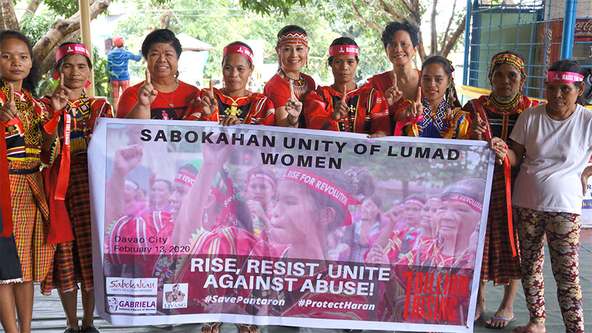 One Billion Rising  2020 unites Davaoeños versus all forms of violence